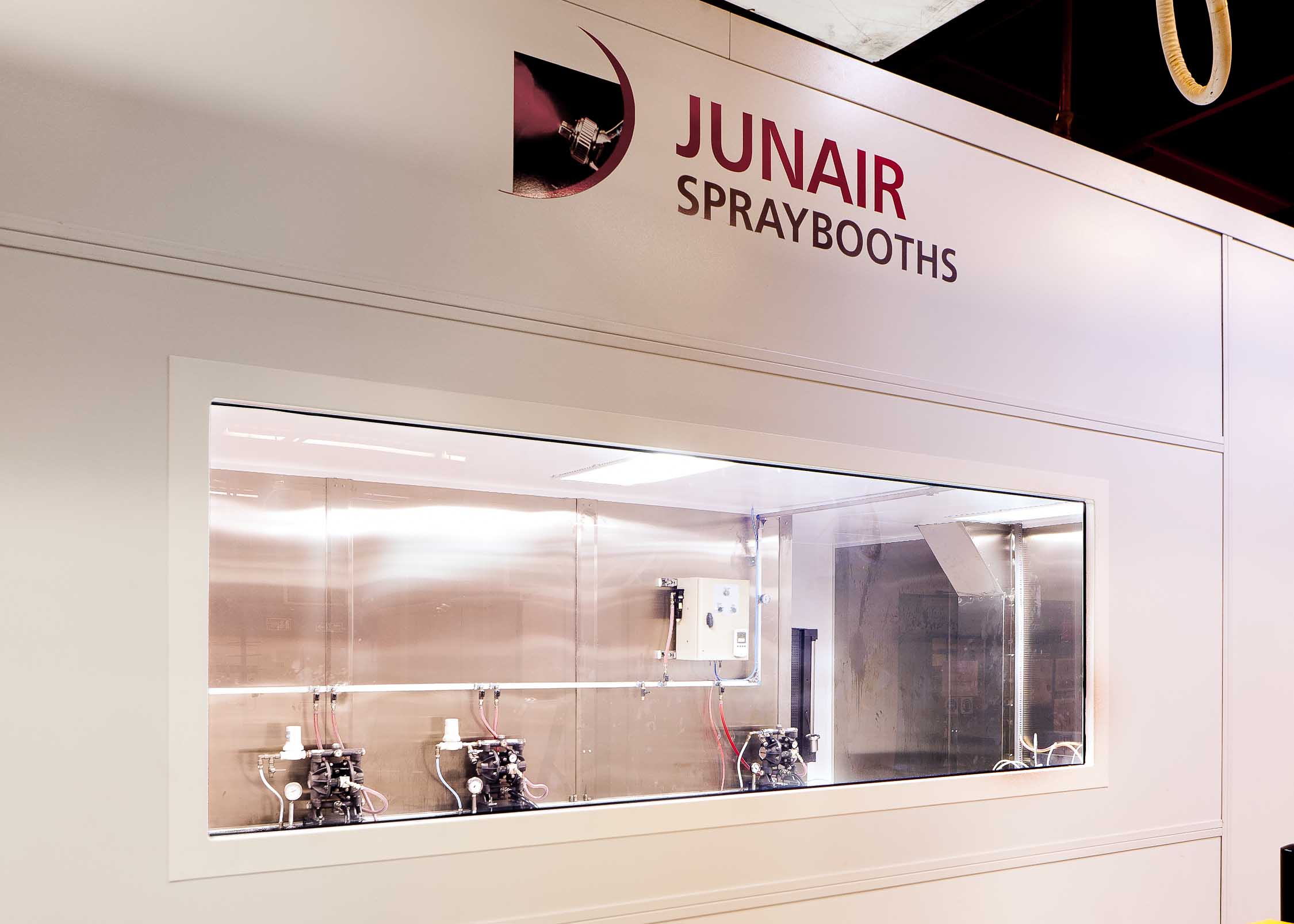 Rooms: Industrial Spray Booth