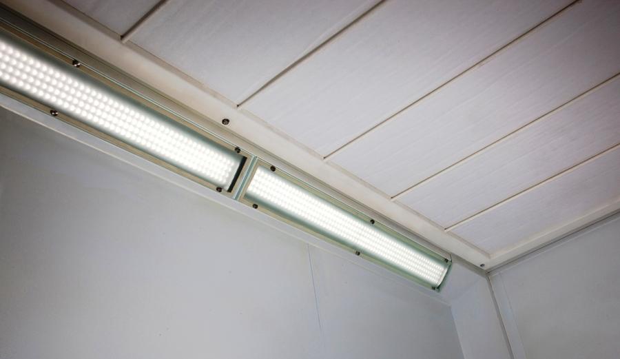 junair spray booths led lighting junair