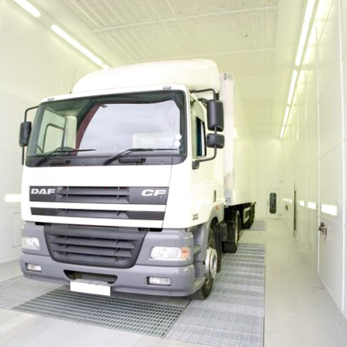 commercial vehicle spraybooth ovens