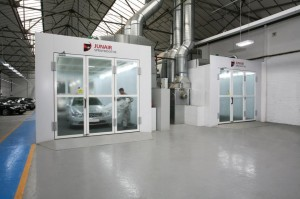 spray booths