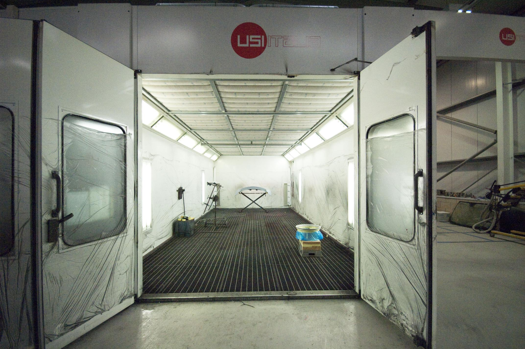 Junair Qads Spraybooth Technology Retro Fit Installation
