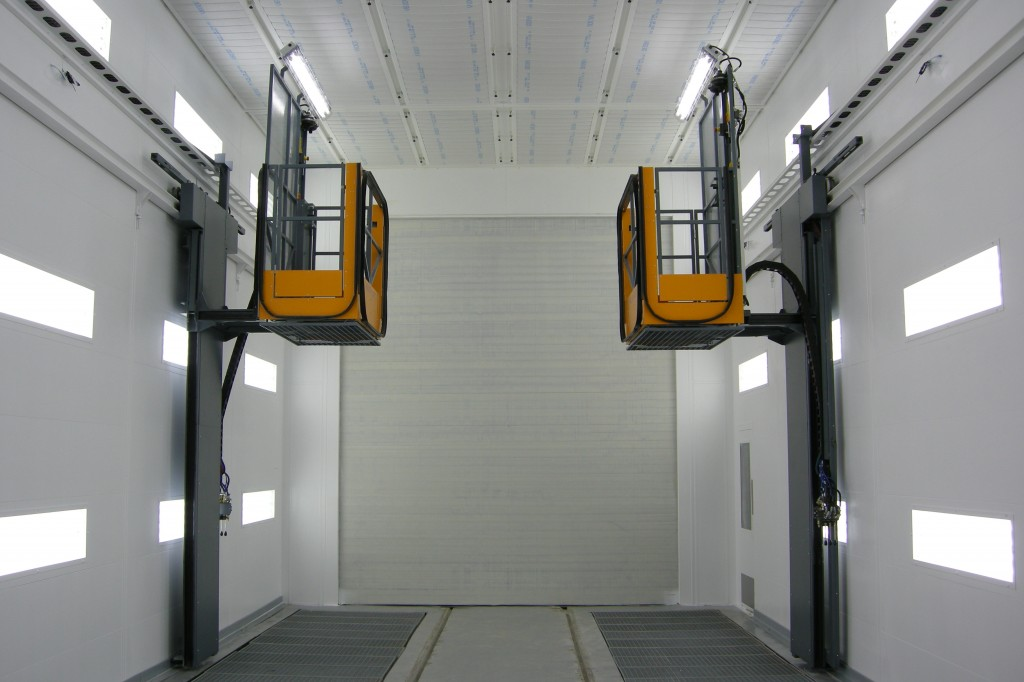 Give The Productivity Of Your Spraybooths A Lift