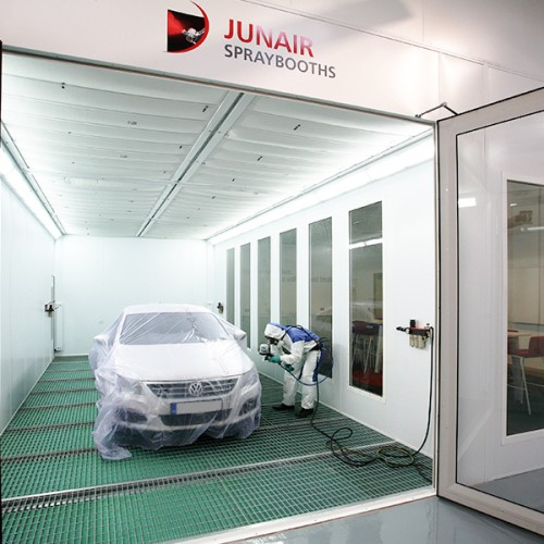 Automotive 3 Series Spray Booth Oven