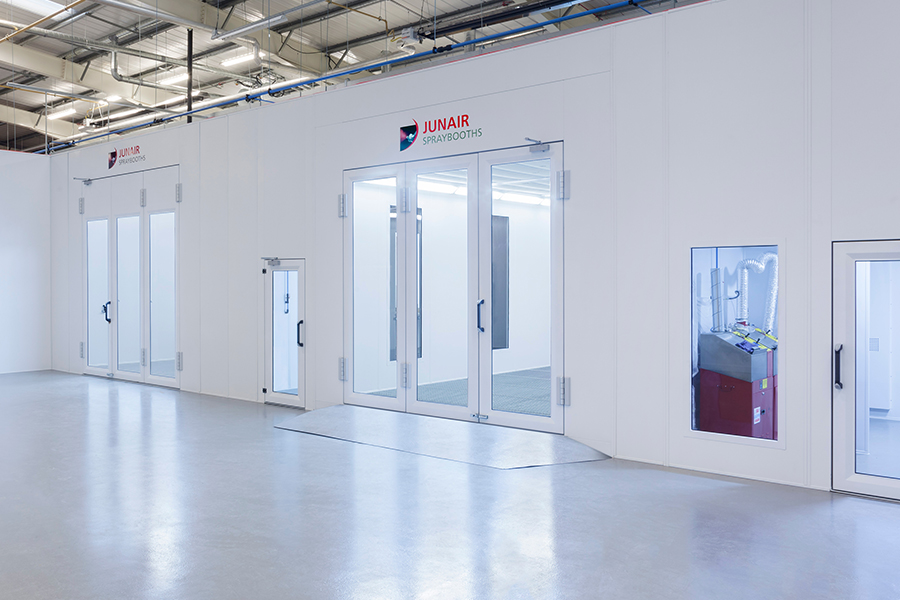 Spray Booths Paint Booths Spray Booth Technology