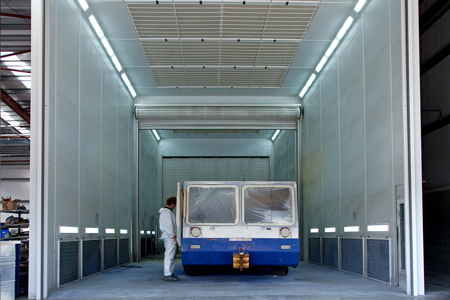 Commercial Vehicle Spraybooth Ovens Junair Spray Booths