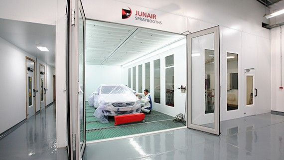 How To Do A Wheel Alignment >> Automotive Accident Repair Equipment | Automotive Spraybooths