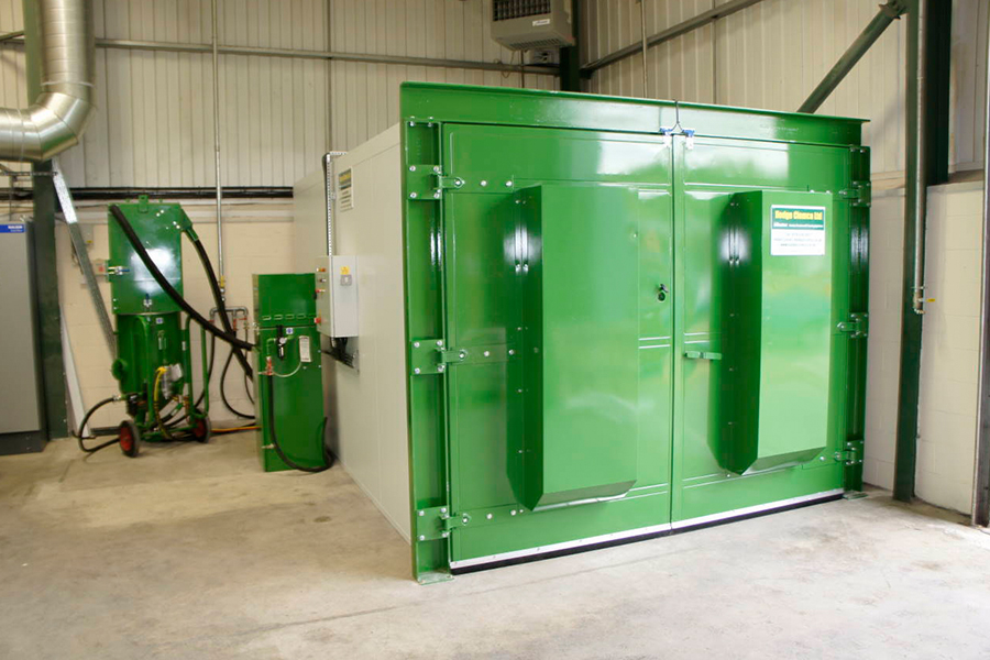 Industrial Shot Blasting Equipment Surface