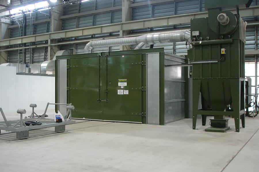 Industrial Shot Blasting Equipment Surface Finishing