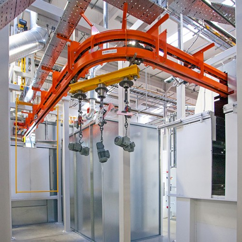 overhead conveyor systems  industrial overhead conveyor equipment