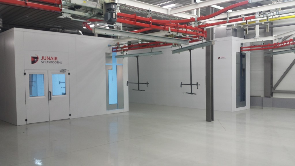 A Bespoke Paint Finishing Facility Junair Spraybooth