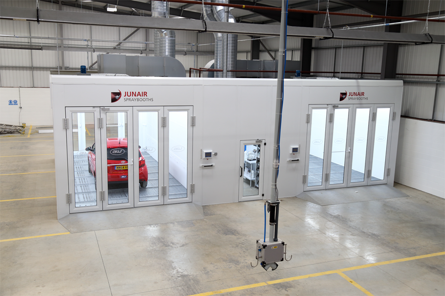 Junair Spraybooth Upgrades For Aw Repair Group
