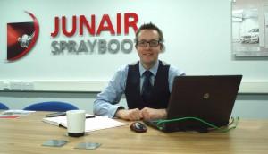 Steven Wood - Junair Spraybooths Sales Manager