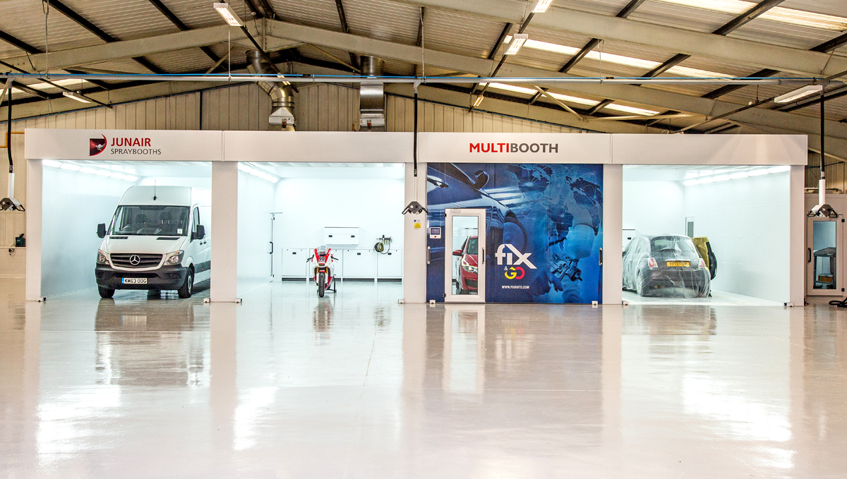 New Junair Multibooth Opens At Fix Auto Rochdale